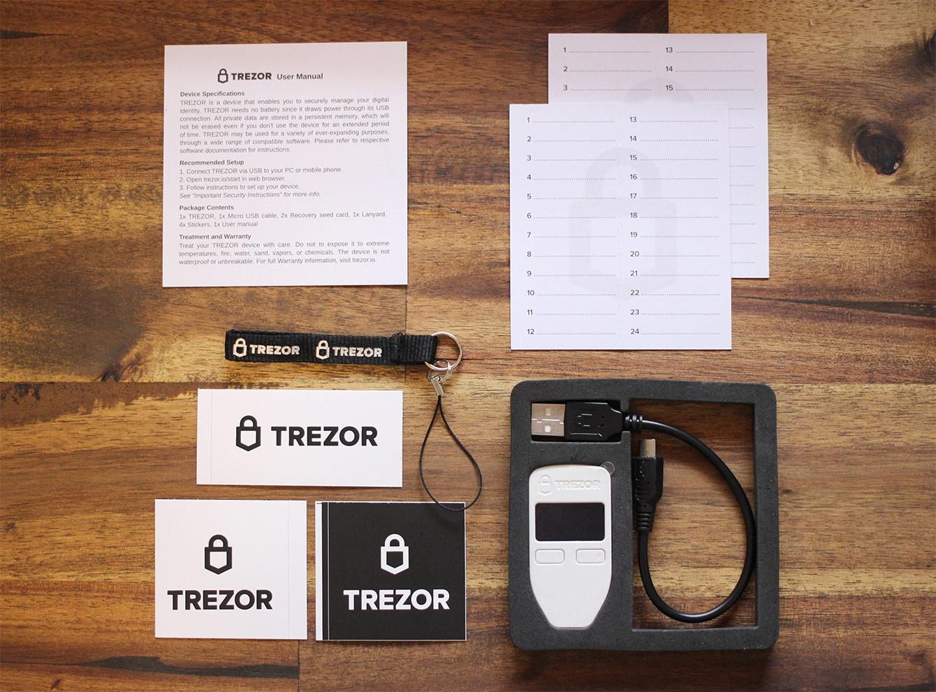 Trezor One - Unboxing