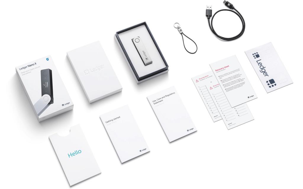 Ledger Nano X - Box Contents